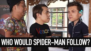 Spider-Man Reunion + Cooking Challenge (w Tom Holland)