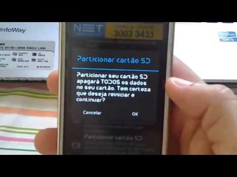 Como Botar os aplicativos para cartão de memória LG Optimus L7 Dual