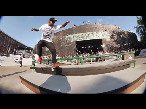 CHAZ ORTIZ DEW TOUR BROOKLYN 2014