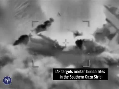 Footage of IDF Strikes on Gazan Terror Sites