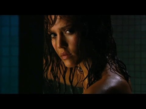 Jessica Alba Hot Shower Scene - machete Clips video