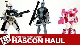 Dan in the Photobooth #98 - Hascon 2017 Haul (Deadpool, Rex, Arcee Exclusives)