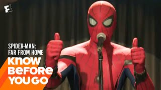 Know Before You Go: Spider-Man: Far From Home   Movieclips Trailers
