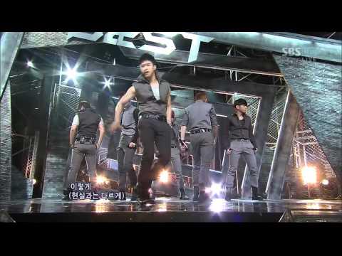 Sbs인기가요-beast [fiction](622회) video
