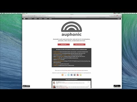 Improve audio with Auphonic (Easy Languages Production)