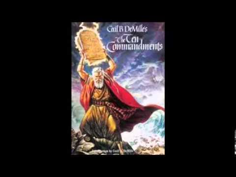 The Ten Commandments 1956 Official Sound Track Full