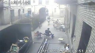 Surveillance Video Shows Gang Shooting in Brooklyn