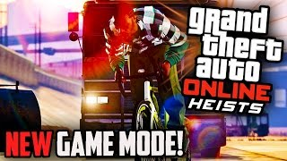 "GTA 5 HEISTS DLC NEW Game Mode - ""HASTA LA VISTA"" - Adversary Game Mode (GTA 5 ONLINE Funny Moments)"
