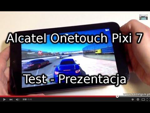 Alcatel Onetouch Pixi 7 Test - Prezentacja