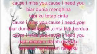 I need you (OST nada CINTA).wmv