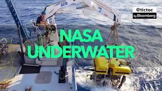 NASA Studying Underwater Volcano for Clues of Alien Life