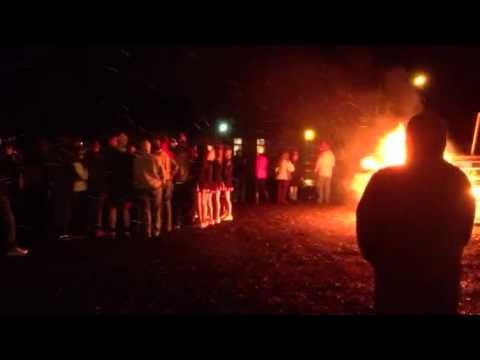 Ritzville High School bonfire 5