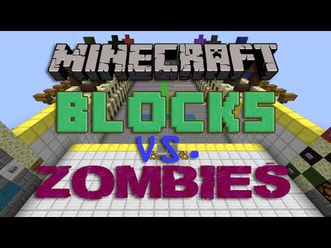 Minecraft Blocks vs. Zombies feat. Guude Pause and Baj! – 2MineCraft.com