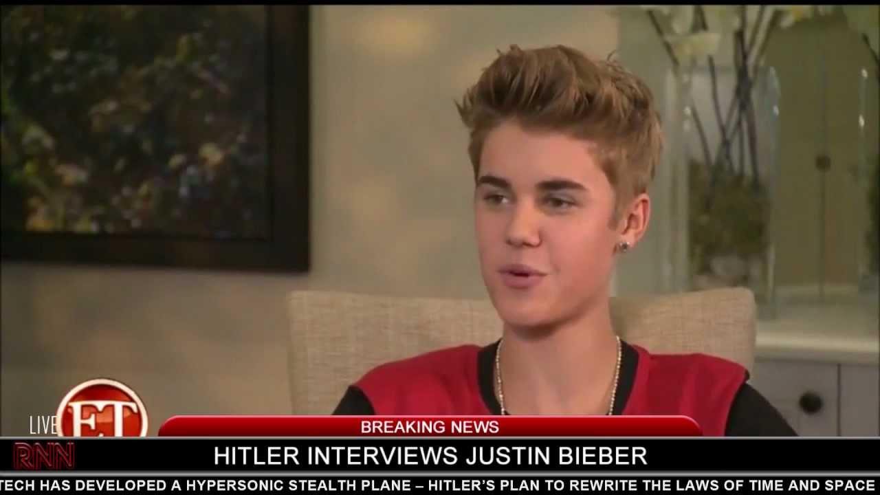 Hitler interviews Justin Bieber