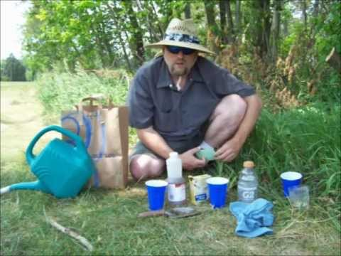 Do it yourself soil test measure ph youtube for Soil yourself