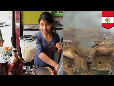 Frog Juice: ang bagong health trend sa Peru!