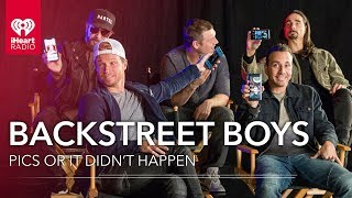 Backstreet Boys Show Off Personal Photos From Their Phone! | Pics Or It Didn't Happen