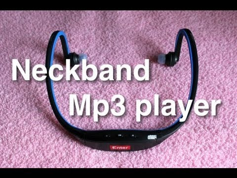 Enter Neckband mp3 player Unboxing