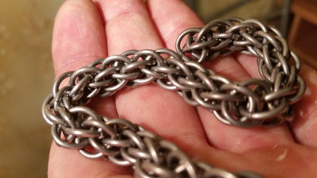 Мастер-класс: кольчужная цепочка полуперсидского плетения