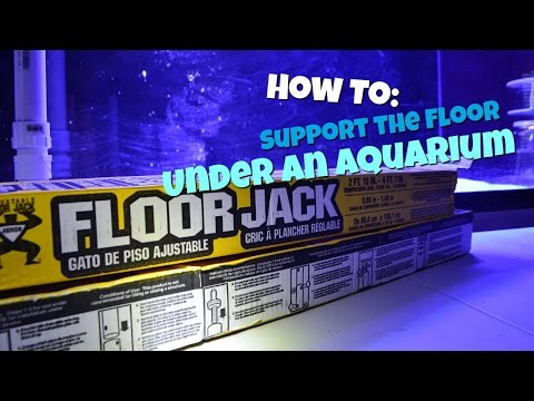 How to: Support the Floor Under an Aquarium