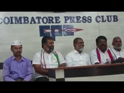 Welfare Party Coimbatore Press Meet - Viduthalai Siruththaigal Susi Kalaiyarsan