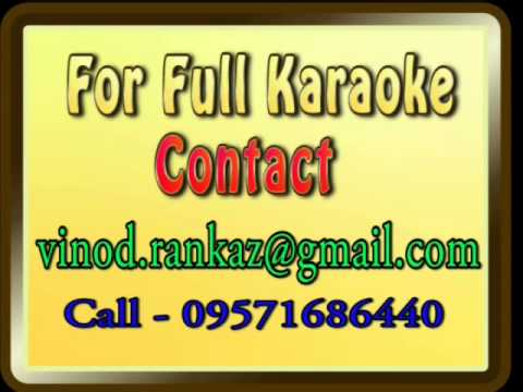 Meri Kismat Main Tu Nahi Shayad   Karaoke   Prem Rog