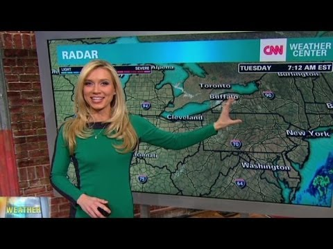 CNN Weather Girl Peterson
