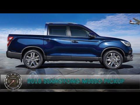 Новый 2018 SsangYong Musso Pickup | ОБЗОР Нового пикапа Санг Енг Муссо 2018 Модельного Года