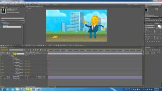 After Effects Advanced-Puppet Pin Tool(操偶工具)-02