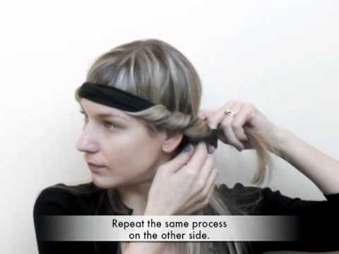 Trade Secrets - How to curl your hair using a Bohemian headband Music Videos
