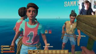 Raft Tower Challenge! - Teo plays Raft co-op w/Paddy, Alex & Sammy Part 3