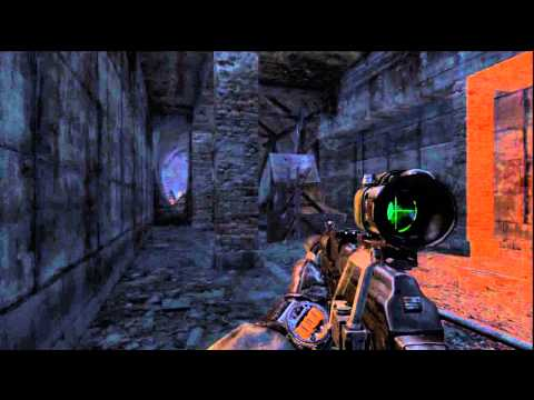 Metro: Last Light Ranger Mode - Revolution: Tunnel Close Call, Saved By Andrew The Blacksmith PS3