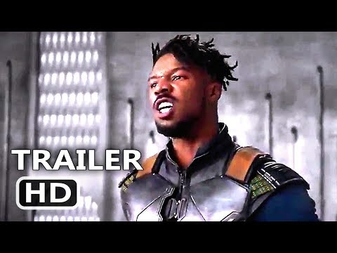 "BLACK PANTHER ""Angry Killmonger"" Clip (2018) Superhero Marvel Movie HD | Cinema"