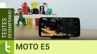 Desempenho do Moto E5 é bom, mas preço assusta