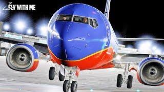 X-Plane 11 - Peaceful Night Flight