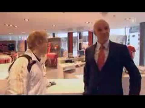 Bayern Wg Oliver Kahn und Franz Beckenbauer on tour