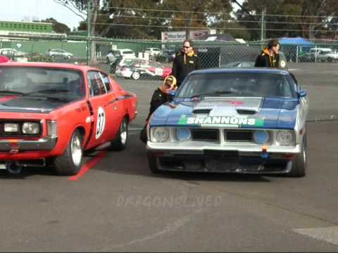 falcon XB coupe RACING aussie muscle car