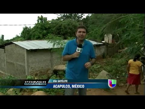Inundaciones dejan cocodrilos y culebras al descubierto en Acapulco - Primer Impacto