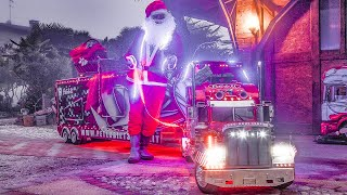 Santa Claus And TruckModel Peterbilt 359 RC 1:4