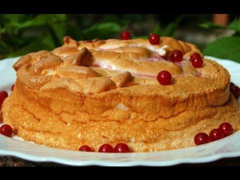 Торт Розовое облако. Ягодный торт. Рецепты пирогов и тортов.