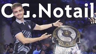 OG.Notail — Best Captain of The International