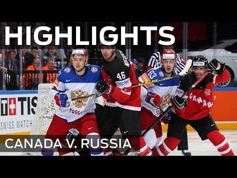 Canada super six stuns Russia | #IIHFWorlds 2015