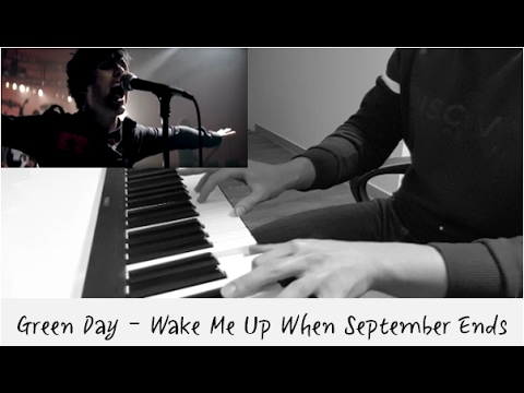 Green Day - Wake Me Up When September Ends (Piano cover)
