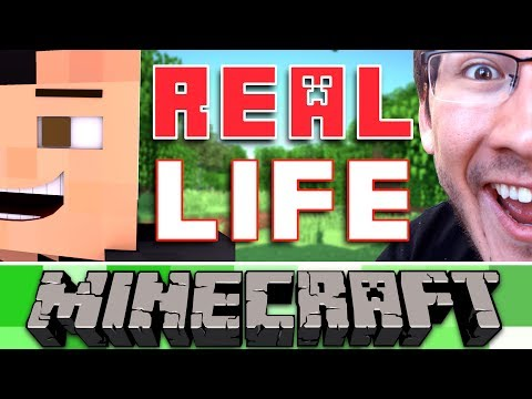 REAL LIFE MINECRAFT!!! ft. Markiplier