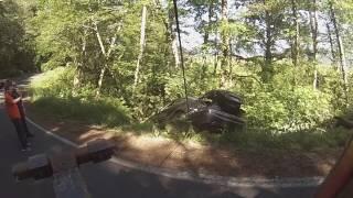Mercedes rollover