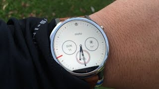 Moto 360 2015 Review