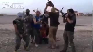 ISIS BEHEADING INNOCENT CIVILIAN