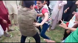 Chakwal PTI best dance Young boys in Jalsa