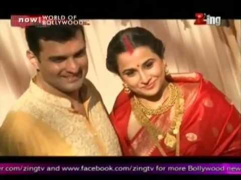Vidya Balan & Siddharth Roy Kapur Tie The Knot