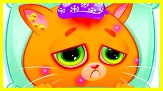 Котенок БУБУ заболел ВЕТРЯНКОЙ Мой виртуальный котик Bubbu My Virtual Pet Мультик игра для детей